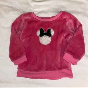 🛍 3/$12 Minnie Mouse Fleece Long Sleeves Size 9M